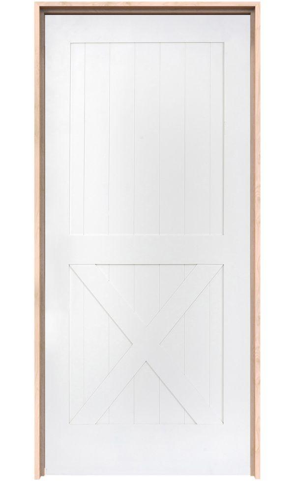 Half X Interior Door