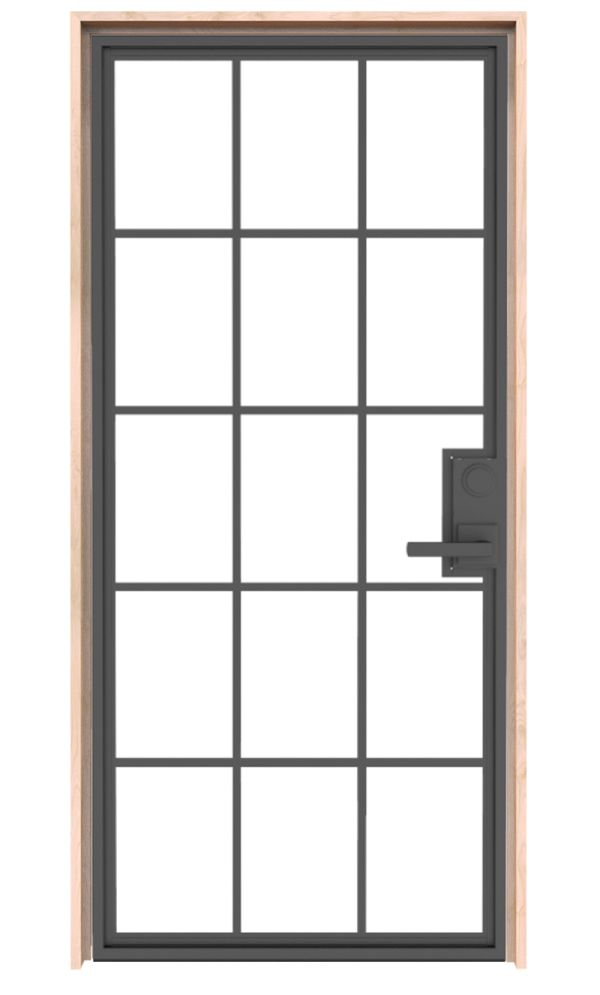 Mountain French Full Interior Door