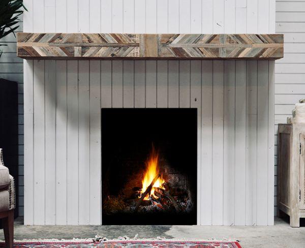 Native Fireplace Mantel