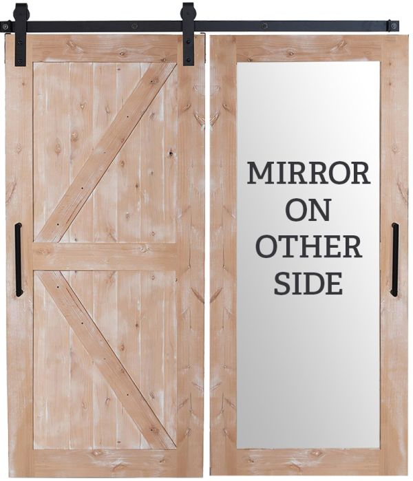 Stable Mirror Barn Door