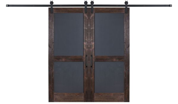 Chalkboard Double Barn Door