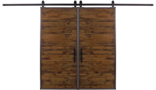 Mountain Modern Double Barn Door