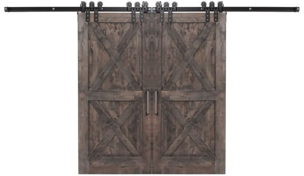 Double X Double Barn Door