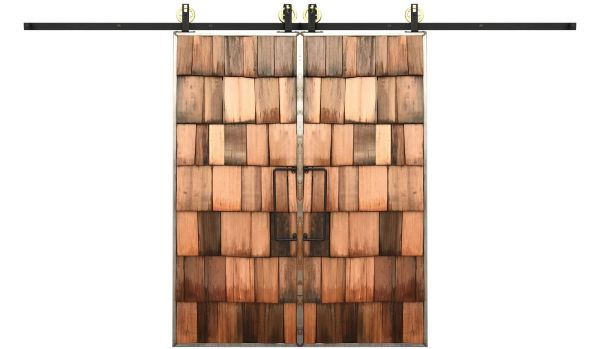 Shaker Double Barn Door