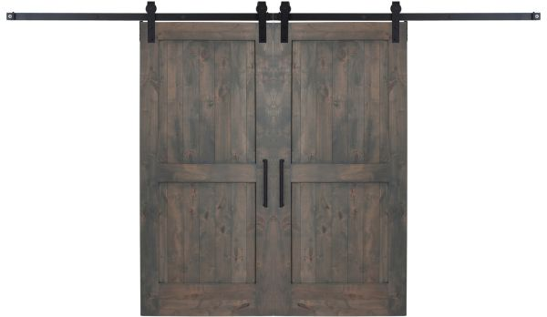 Two Panel Double Barn Door