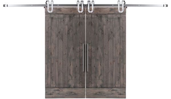 True Double Barn Door