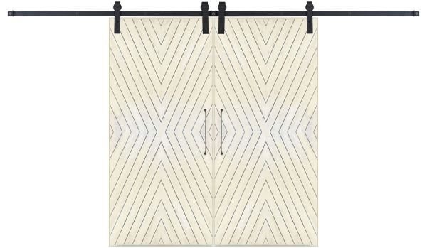 Fraction Double Barn Door