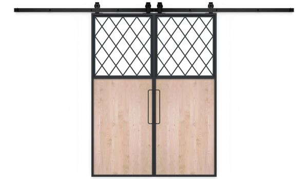 French Farm Double Barn Door