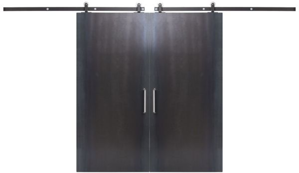 Industry Double Barn Door