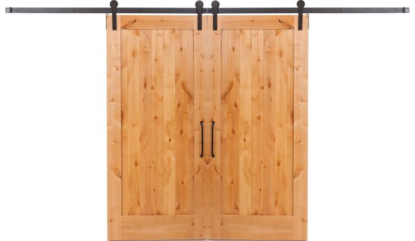 Lewiston Double Barn Door