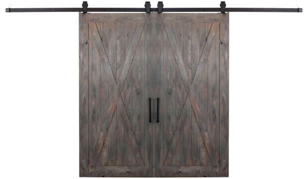 Full X Double Barn Door