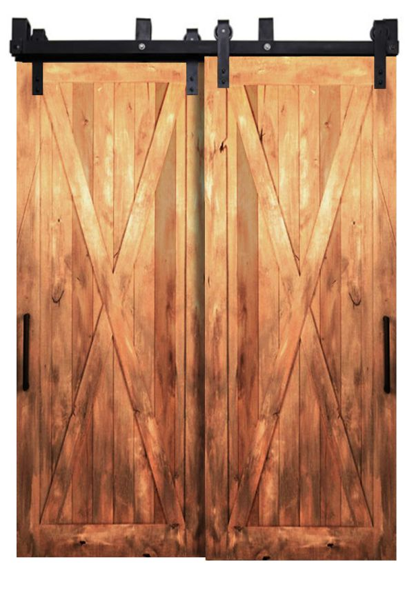 Outdoor Rated Bypassing Barn Doors