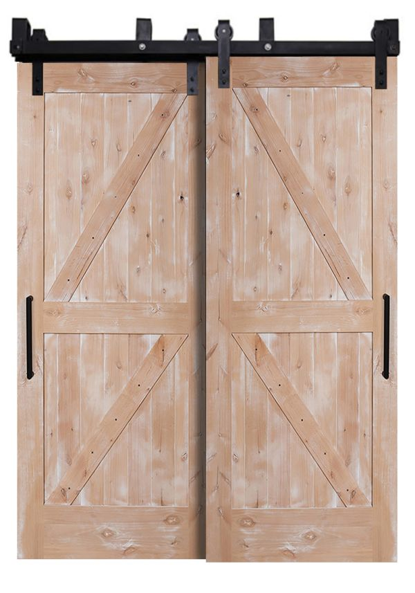 Dutch Z Bypassing Barn Doors