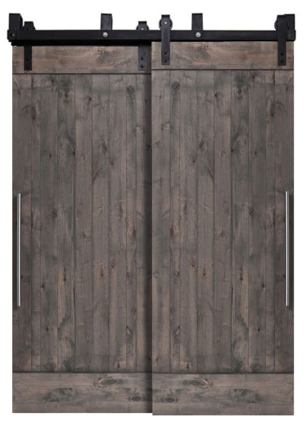 True Bypassing Barn Doors