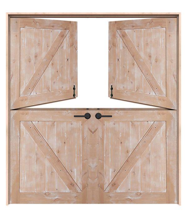 Classic Double Dutch Doors