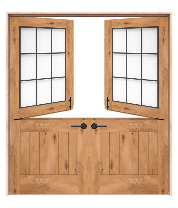 Farmhouse Double Dutch Doors