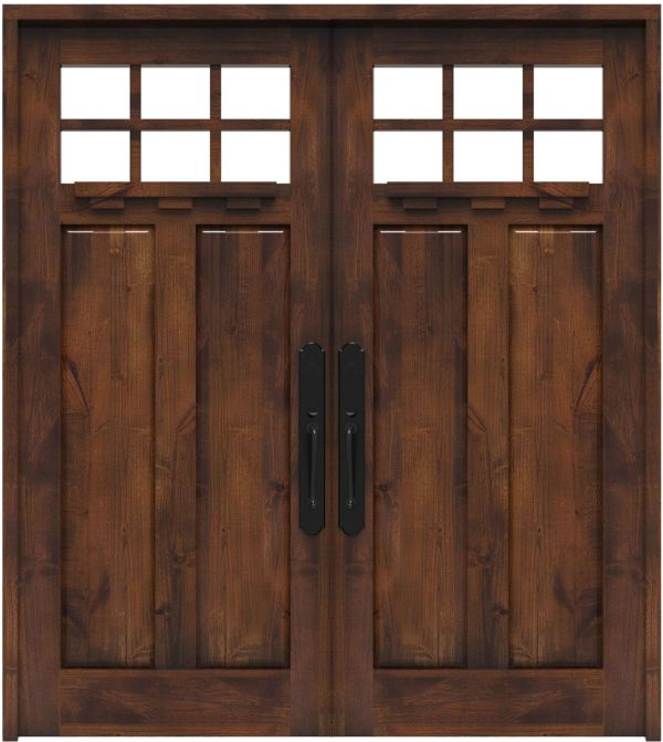 Apprentice Double Front Door With Shelf