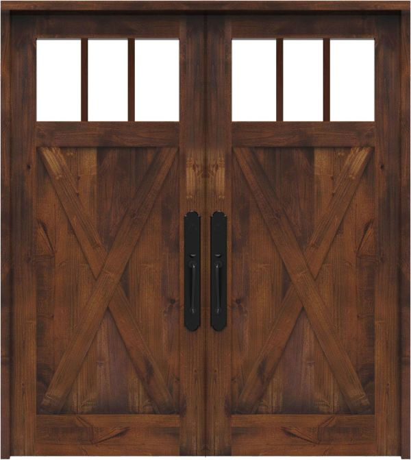 Bartholomew Double Front Door