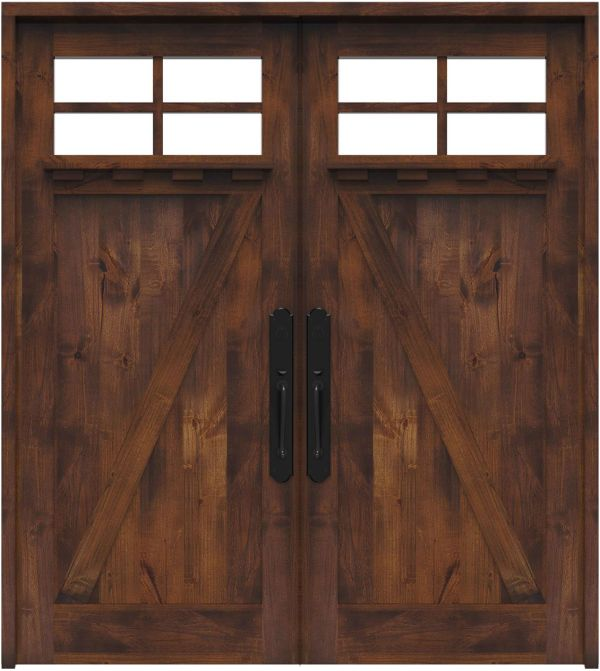 Skyline Double Front Door With Shelf