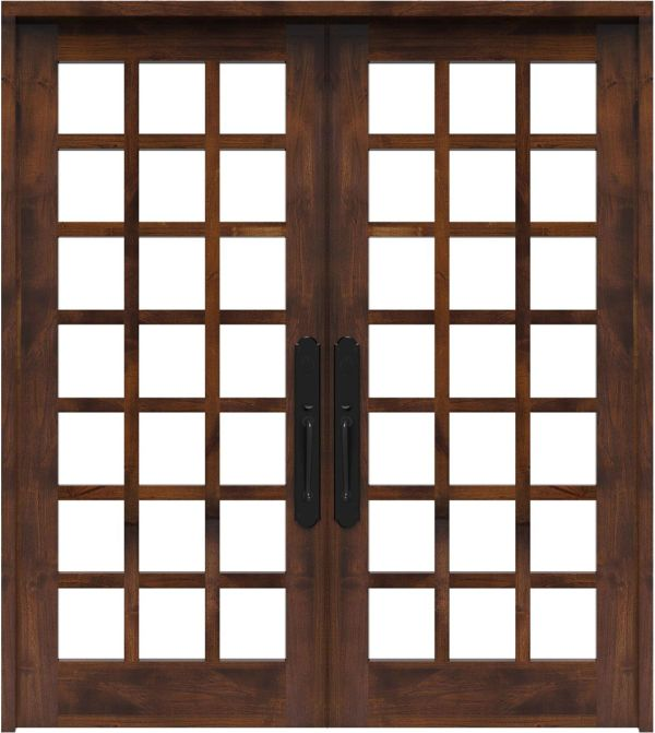 Alpine Double Front Door