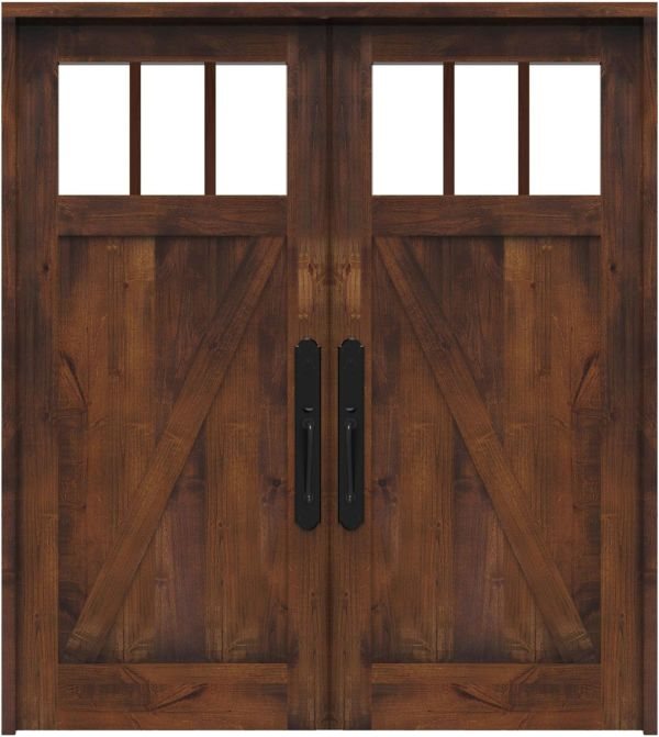 Clover Pass Double Front Door