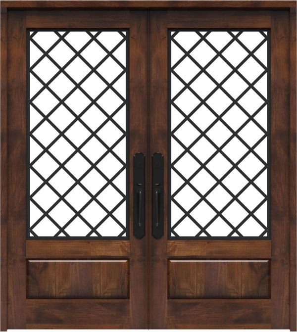 Cathedral Double Front Door