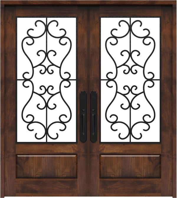 Manor Double Front Door