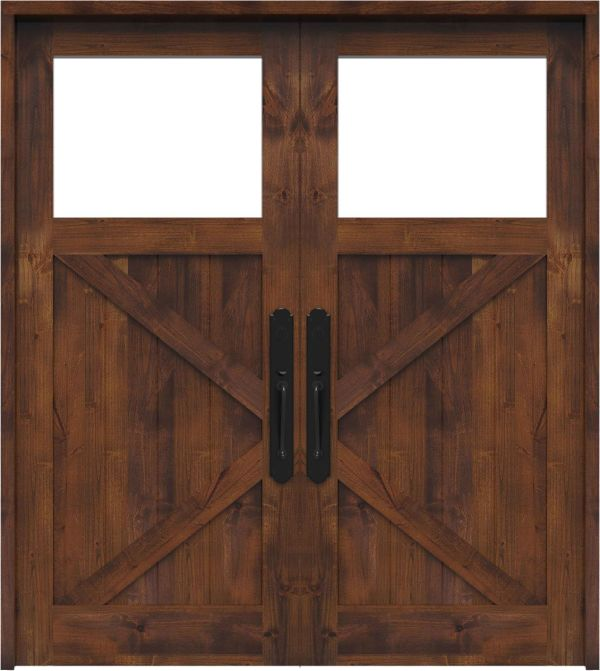 Shoemaker Double Front Door