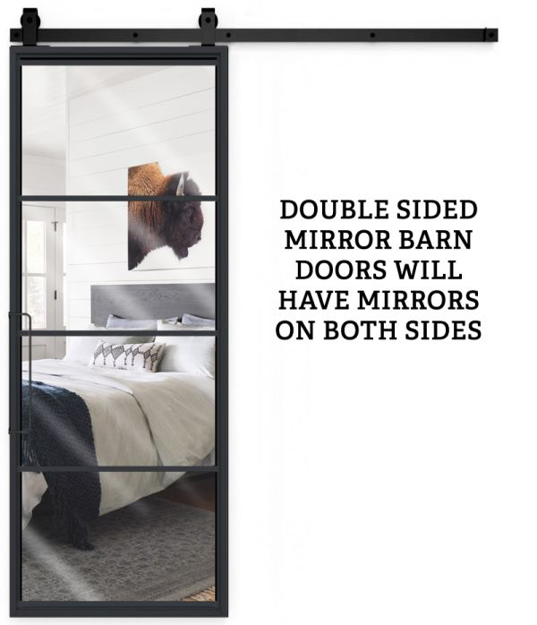 Modern Cottage Double Mirror