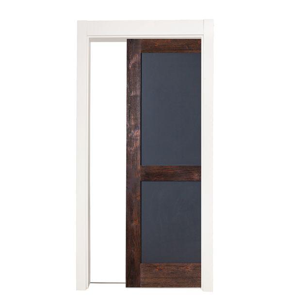 Chalkboard Single Pocket Door