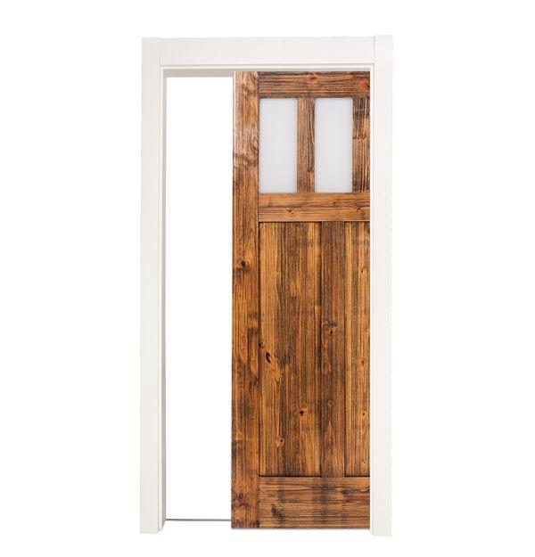 Craftsman Single Pocket Door