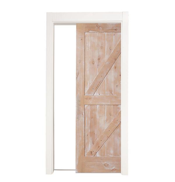 Dutch Z Single Pocket Door