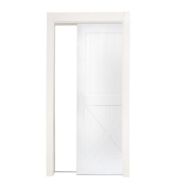 Half X Single Pocket Door