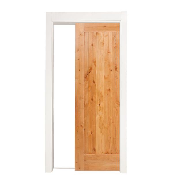 Lewiston Single Pocket Door