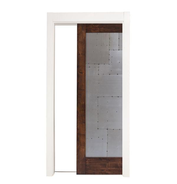 Steampunk Single Pocket Door