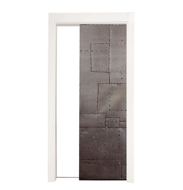 Mountain Scrap Single Pocket Door
