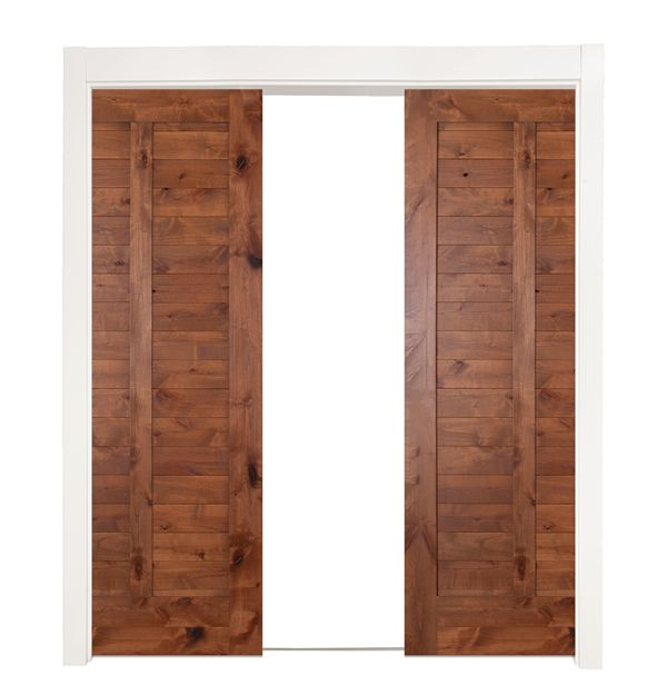 Heartland Double Converging Pocket Doors