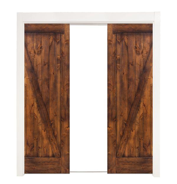 Z Double Converging Pocket Doors