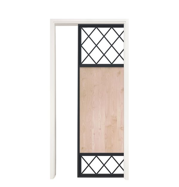 Tiller Shed Single Pocket Door