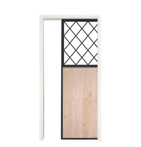 French Farm Single Pocket Door