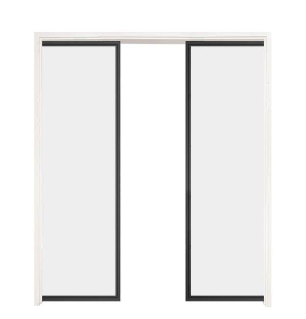 Suite Double Converging Pocket Doors