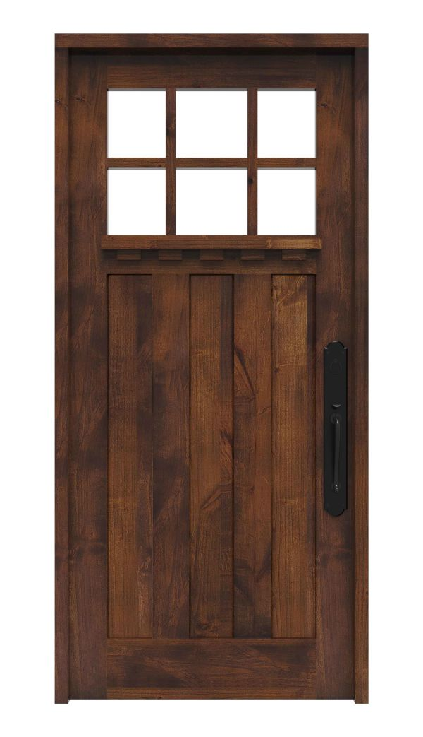 Rocky Point Front Door With Shelf