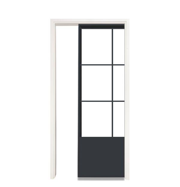 French Quarter Single Pocket Door