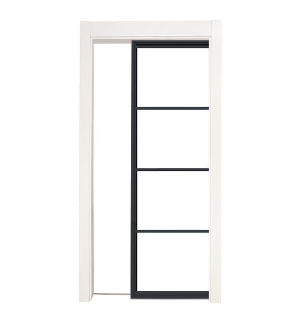 Modern Cottage Single Pocket Door