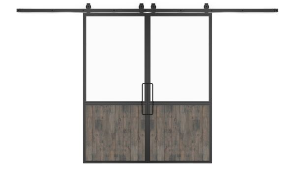 Chalet Double Barn Door