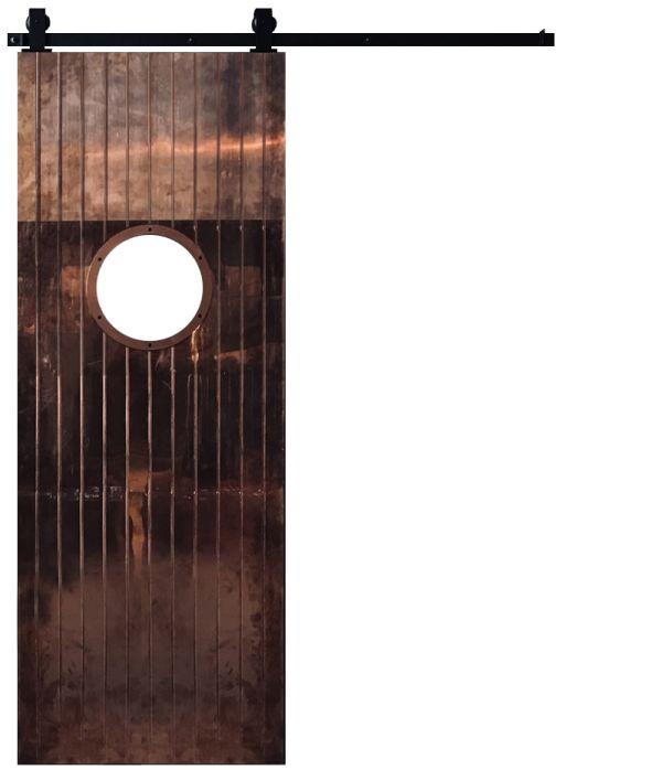 Penny Rail Barn Door