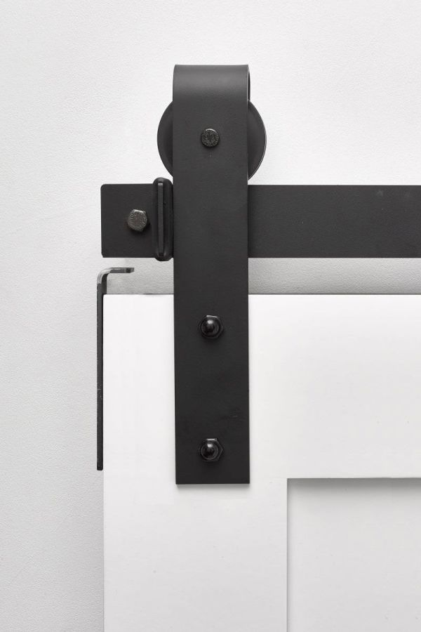 Stag Flat Black - Same Day Ship Barn Door Hardware