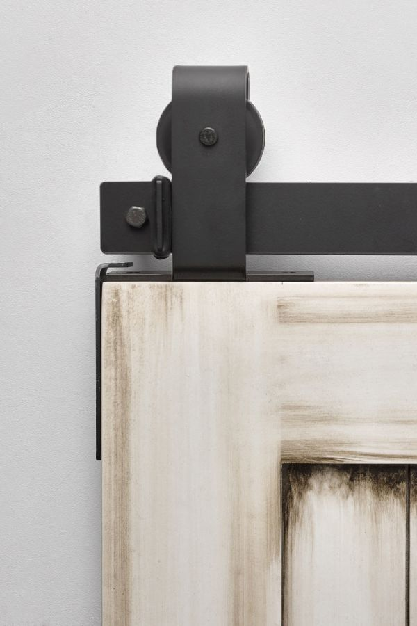 Buck Flat Black - Same Day Ship Barn Door Hardware