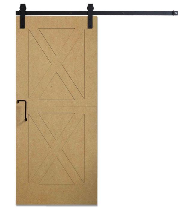 DIY Panel Door Unfinished - Same Day Ship - 3ft x 7ft