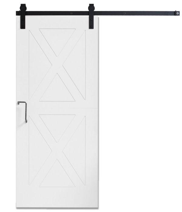 DIY Panel Door White - Same Day Ship - 3ft x 7ft